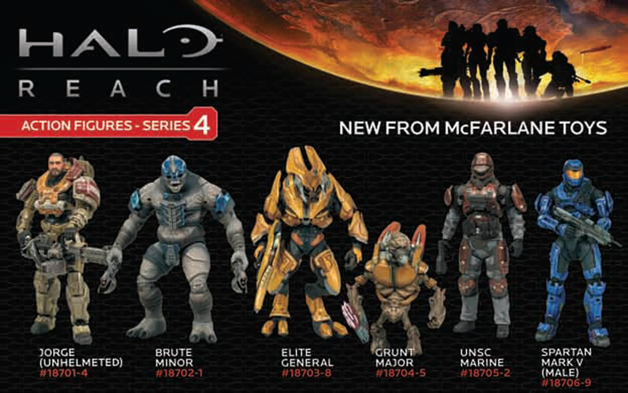 Minimates Halo Reach Halo Reach Series 4 Action