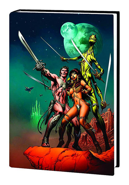 John Carter, Warlord of Mars Omnibus