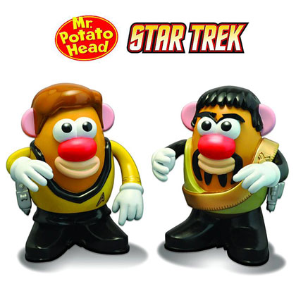 Mr. Potato Head: Star Trek -- Kirk/Kor Set