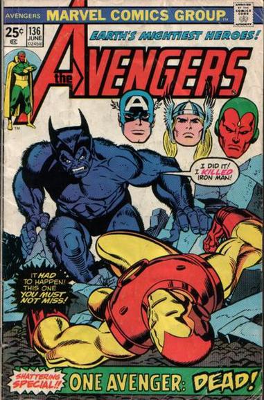 Avengers #136