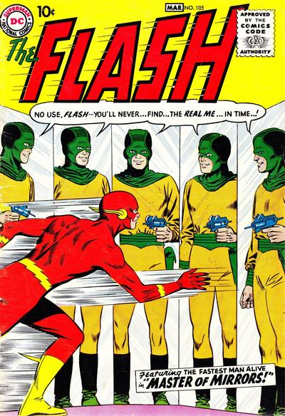 Flash #105, the first issue of the series.
