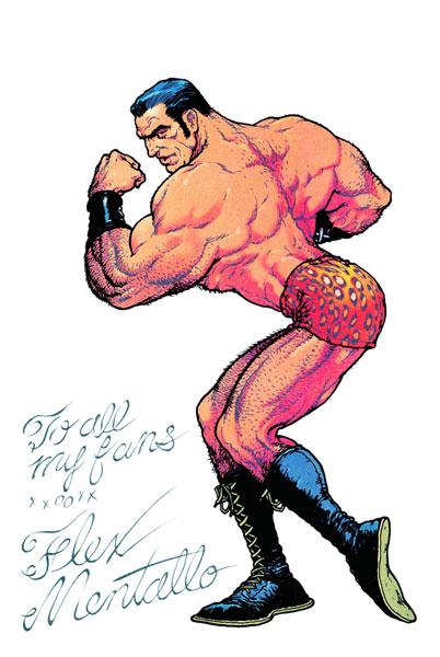Flex Menatllo: Man of Muscle Mystery