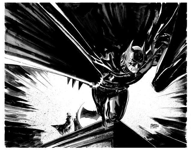 Batman by Gabriel Hardman