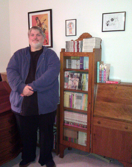 KC with bookcase