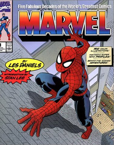 Marvel: Five Fabulous Decades of the World's Greatest Comicsv