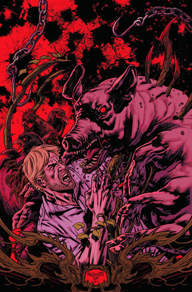 Swamp Thing, a New 52 book I quite enjoy