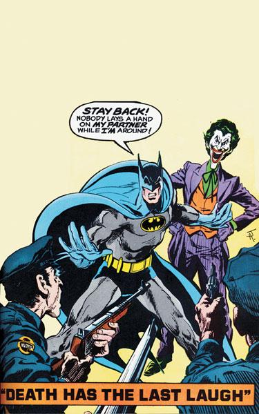Batman & the Joker by Aparo.