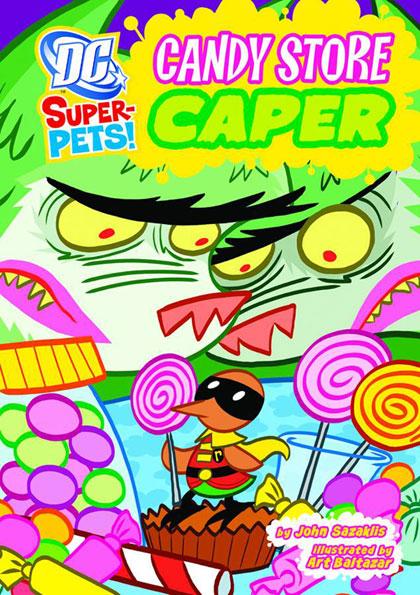 DC Super-Pets: Candy Store Caper