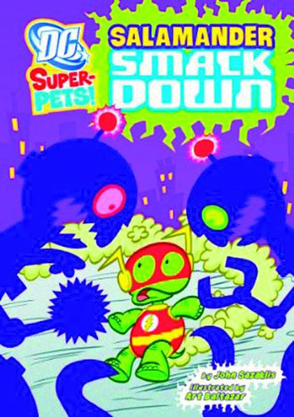 DC Super-Pets: Salamander Smackdown