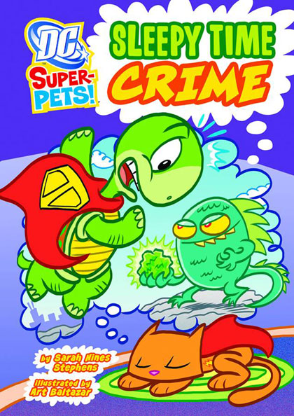 DC Super-Pets: Sleepy Time Crime