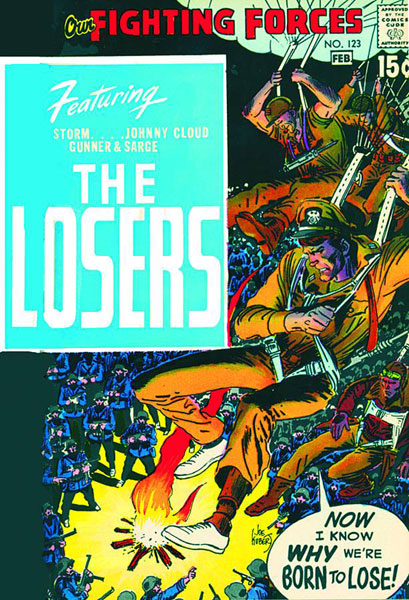 Showcase Presents: The Losers Volume 1