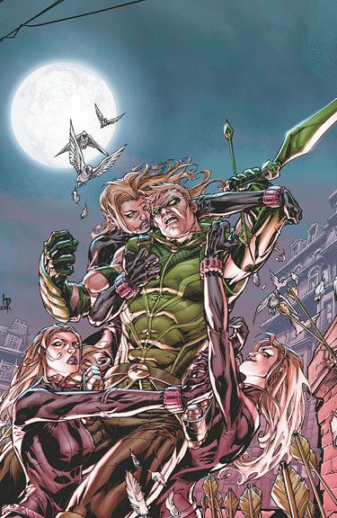 Green Arrow written by Ann Nocenti