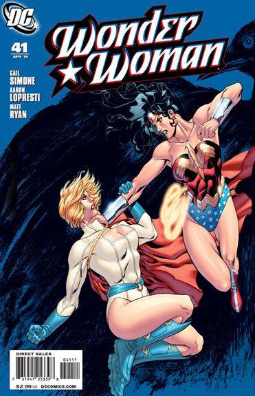 Wonder Woman written by Gail Simone.