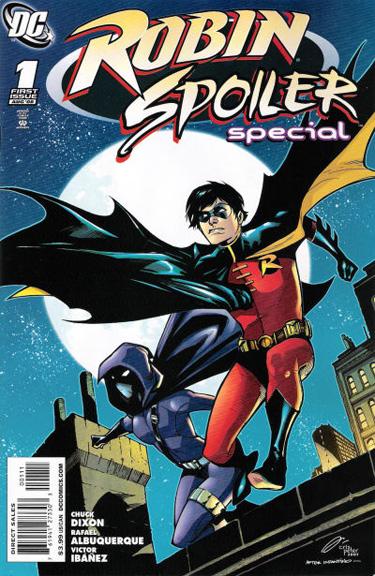 Robin Spoiler Special written by Chuck Dixon.