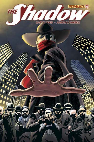 Shadow #1 Cover by John Cassaday