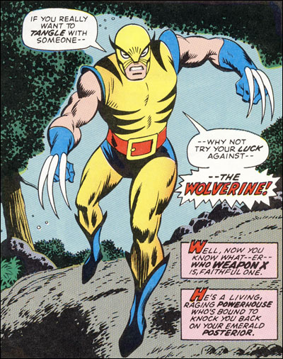 The Debut Of Wolverine