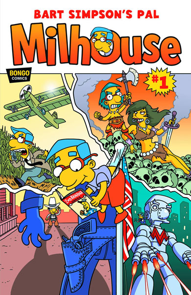 Bart Simpson's Pal Milhouse