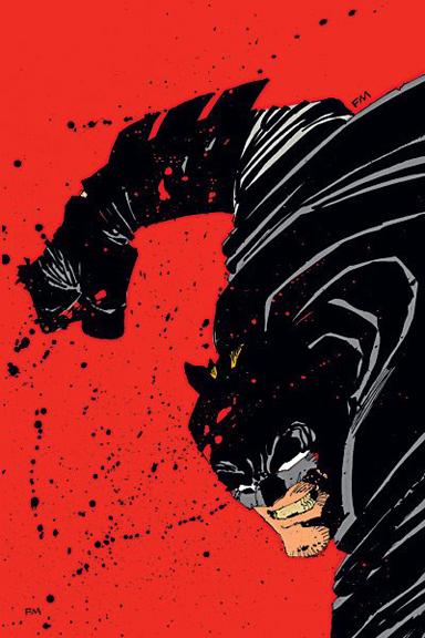 "Batman by Frank Miller. ""Get off my lawn"""