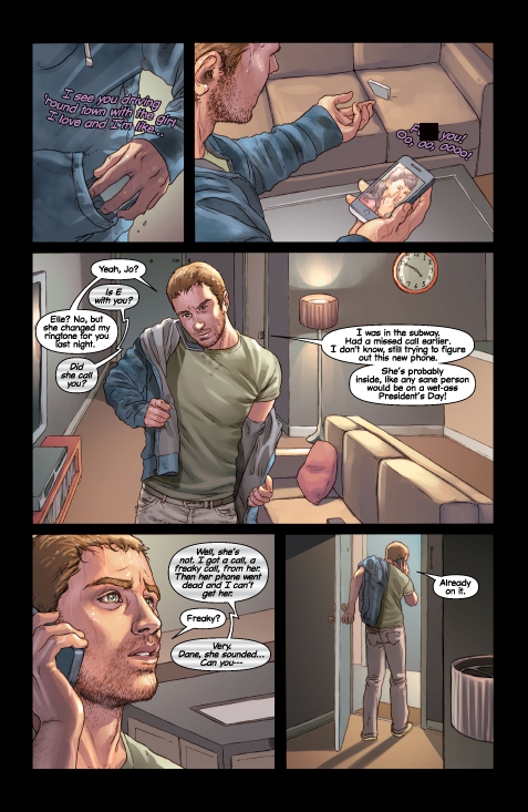 Mind the Gap preview page 4