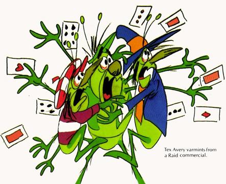 Tex Avery Raid Bugs