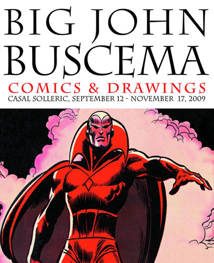 Big John Buscema: Comics and Drawings
