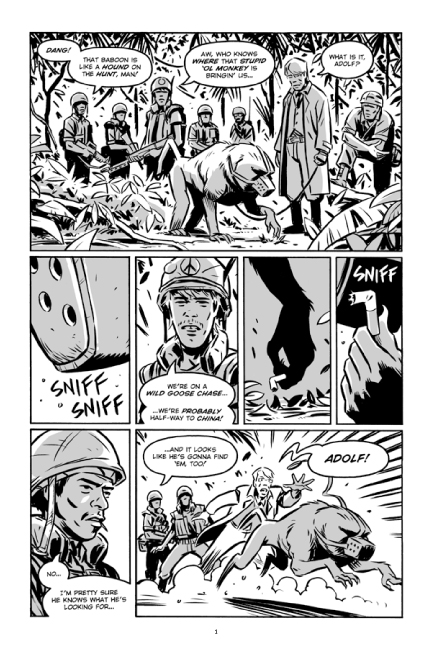 Guerillas Vol. 2 preview page 1