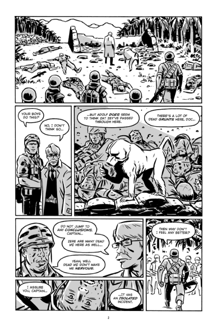 Guerillas Vol. 2 preview page 2