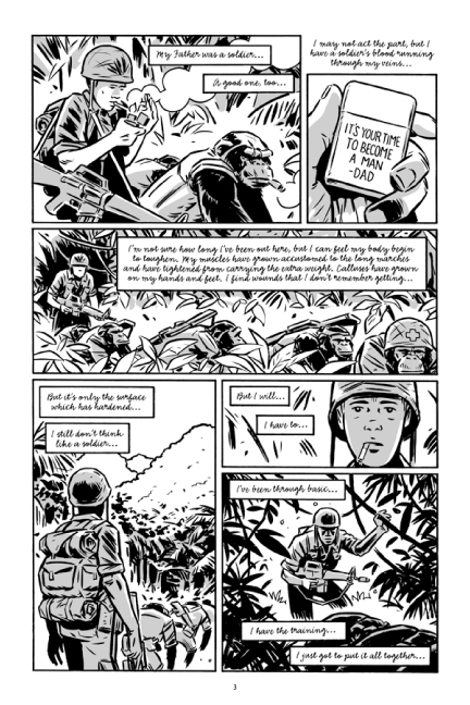 Guerillas Vol. 2 preview page 3