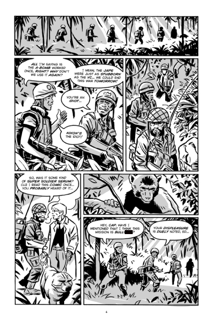Guerillas Vol. 2 preview page 4