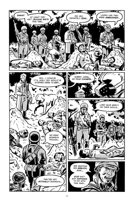 Guerillas Vol. 2 preview page 6