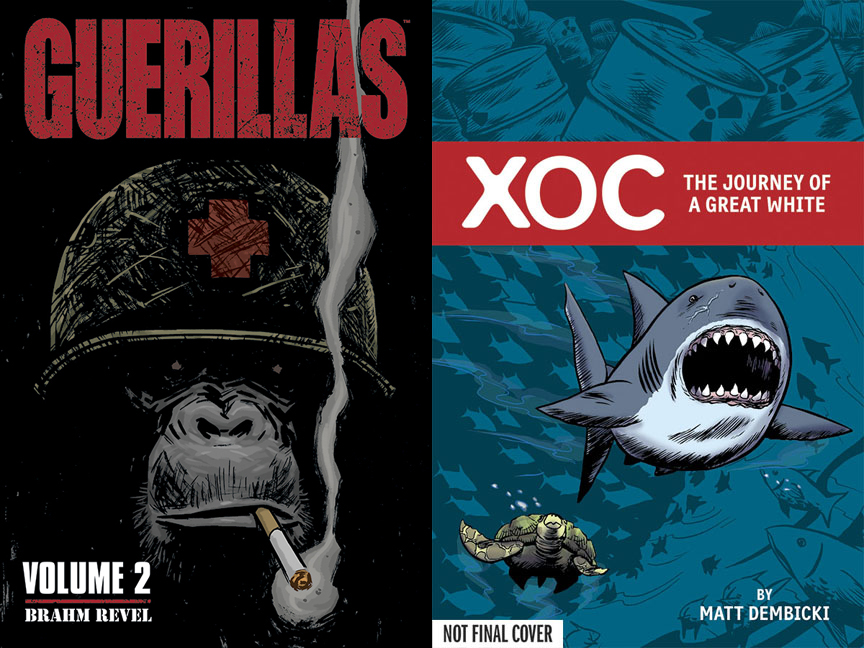 Guerillas &amp; Xoc: The Journey of a Great White
