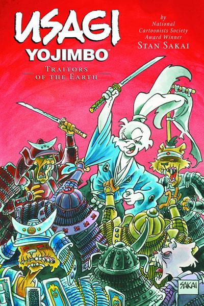 Usagi Yojimbo Vol. 26: Traitors of the Earth