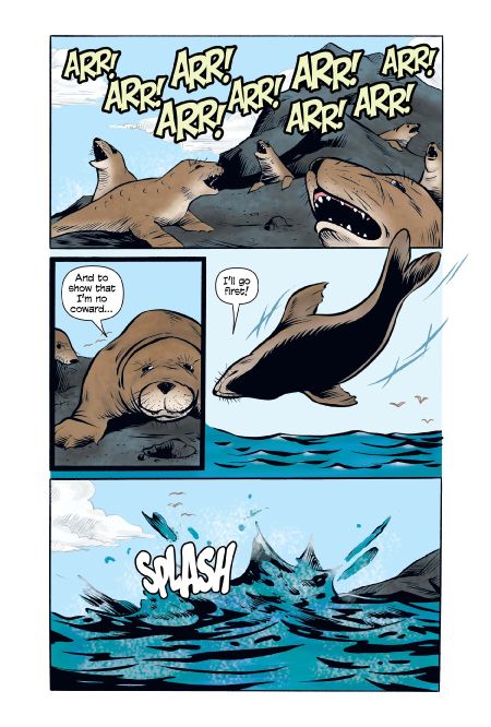 Xoc: The Journey of a Great White preview page 8