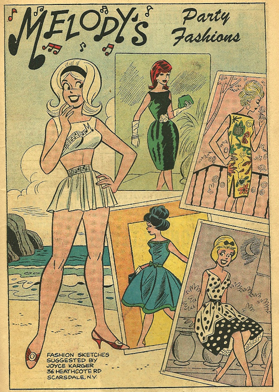 From She's Josie #4, Nov. 1963.