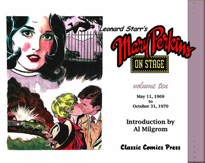 Leonard Starr's Mary Perkins On Stage Volume 10
