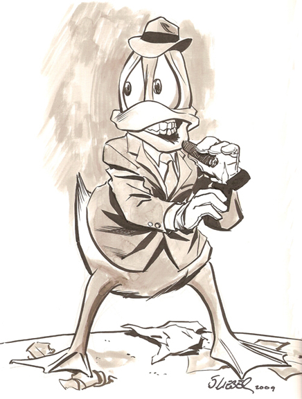 Howard the Duck by Steve Lieber.