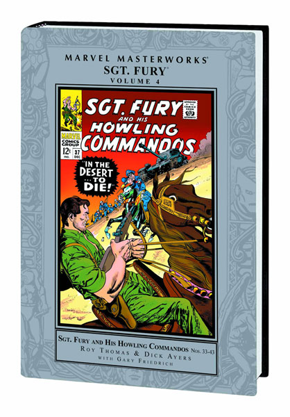 Marvel Masterworks: Sgt. Fury and his Howling Commandos Volume 4