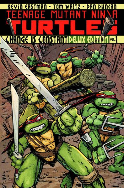 Teenage Mutant Ninja Turtles Vol. 1: Change is Constant Deluxe Edition