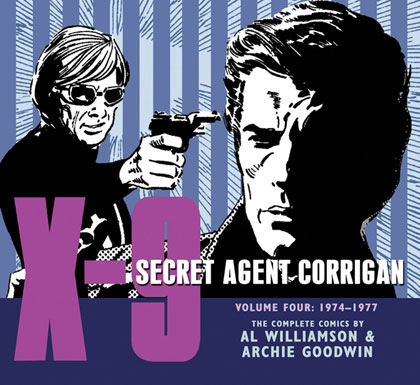 X-9: Secret Agent Corrigan Volume 4