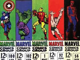 Iconic Marvel Corner Logos Of The 1960s