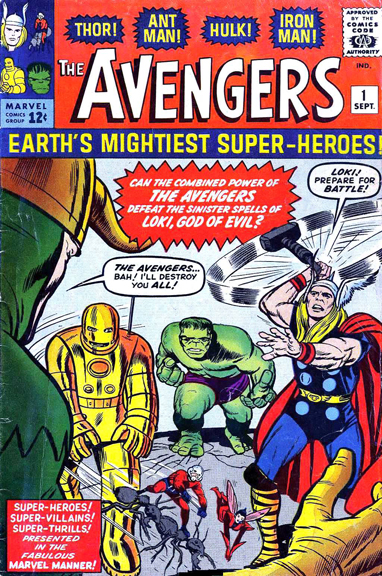 Avengers #1 by Stan Lee & Jack Kirby