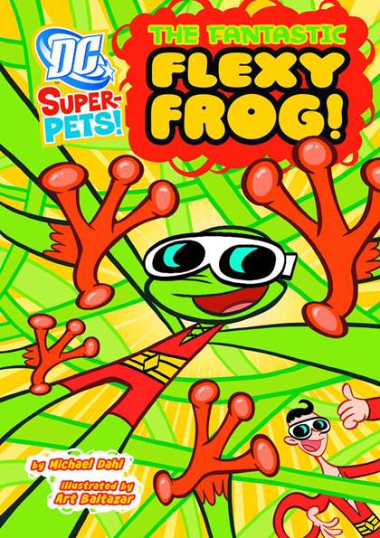 DC Super-Pets: Fantastic Flexy Frog