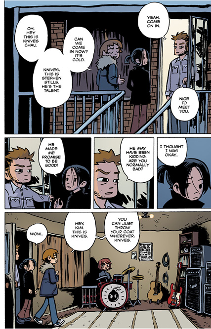 Scott Pilgrim Vol. 1 HC preview page11