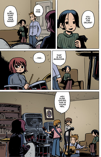 Scott Pilgrim Vol. 1 HC preview page12