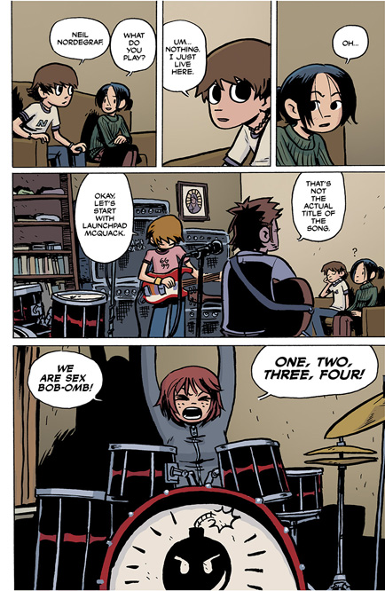 Scott Pilgrim Vol. 1 HC preview page13