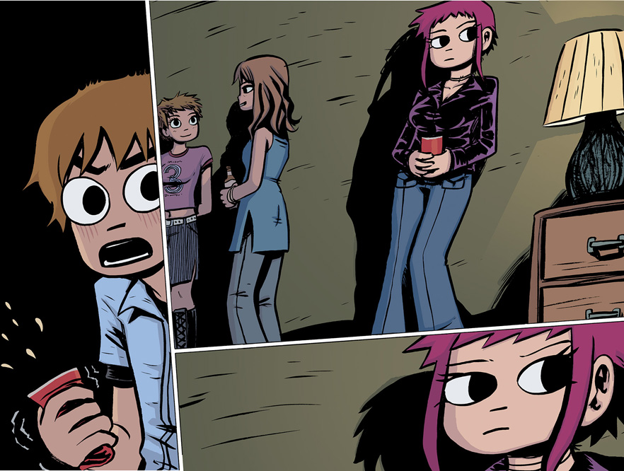 Scott Pilgrim Vol. 1 HC preview pages 48 & 49