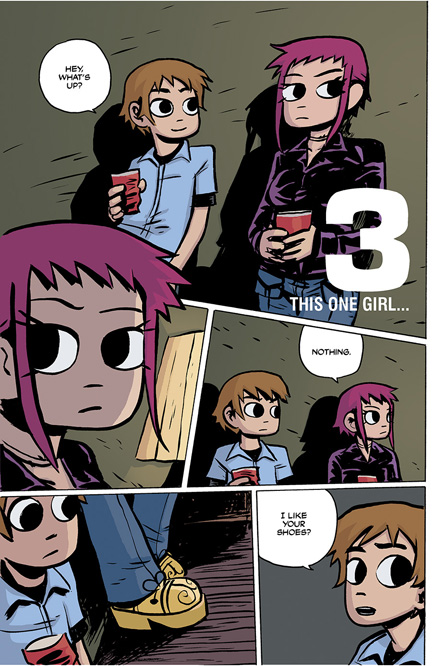 Scott Pilgrim Vol. 1 HC preview page 50