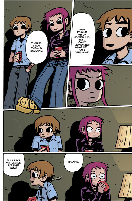 Scott Pilgrim Vol. 1 HC preview page 51