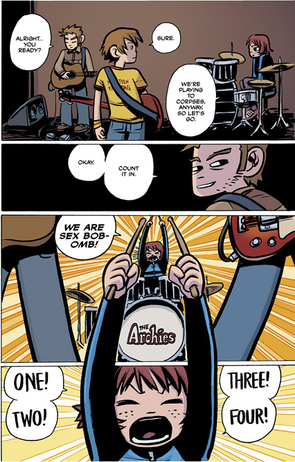 Scott Pilgrim Vol. 1 HC preview page 127