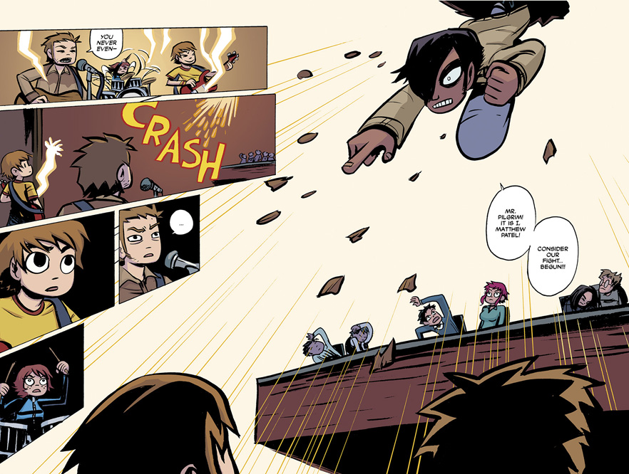 Scott Pilgrim Vol. 1 HC preview pages 128 & 129